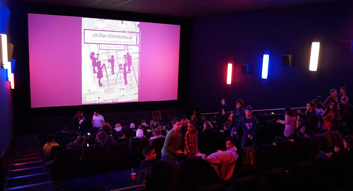 Beim chiller Festival stellten Neuköllner Kinder und Jugendliche ihre Kurzfilme vor.