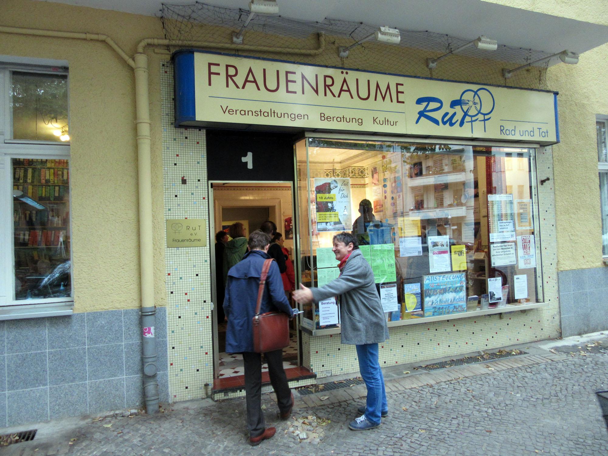 """Die Initiative """"Rad und Tat"""" gibt es schon seit 25 Jahren im Schillerkiez. (Bild: Sophia Strauchmann)"""