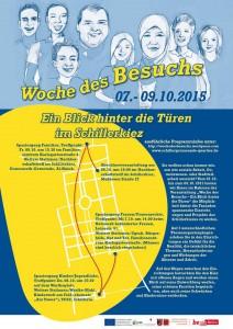 """Das Plakat der diesjährigen """"Woche des Besuchs"""". (Bild: Woche des Besuchs)"""