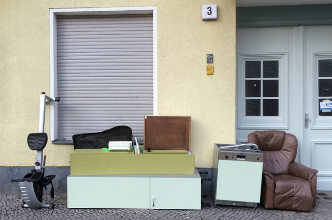 Sperriger Müll – Selchower Straße