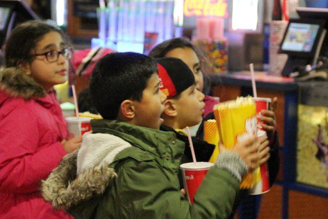 Für alle Gäste beim chiller Filmfestival gab es freies Popcorn und Getränke.